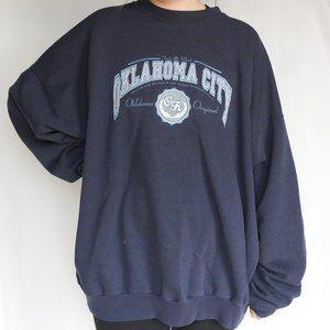 Vintage | Oklahoma City Oversized Sweatshirt